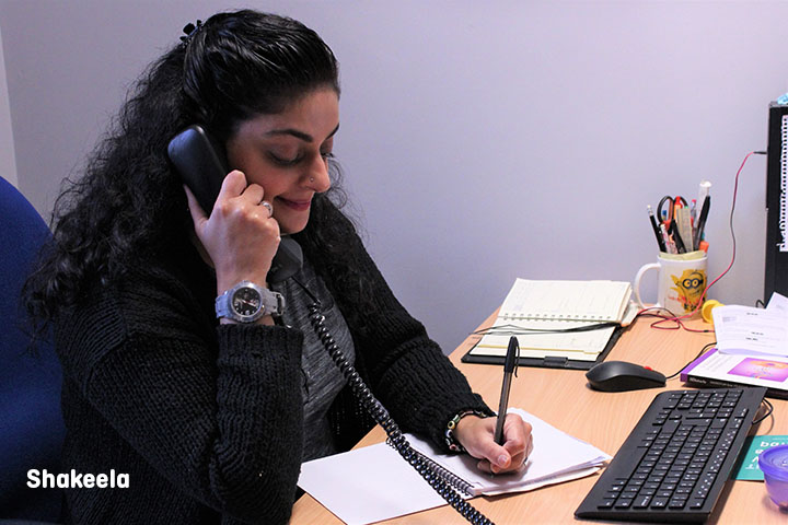 Shakeela on the Tinnitus Helpline