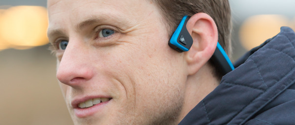 Aftershokz Wireless Bone Conduction Headphones - Ocean Blue