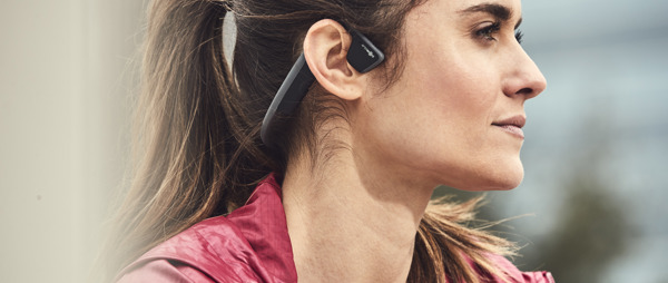 Aftershokz Wireless Bone Conduction Headphones - Slate Grey