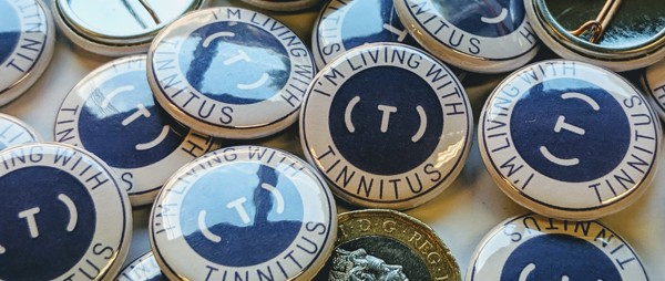 Tinnitus Badge - Blue