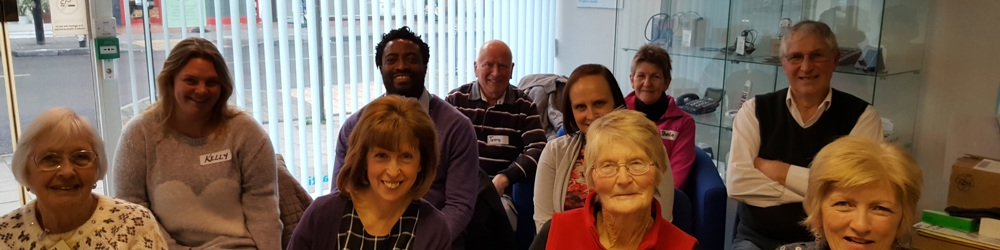 Margate support group photo of the members who attended the meeting