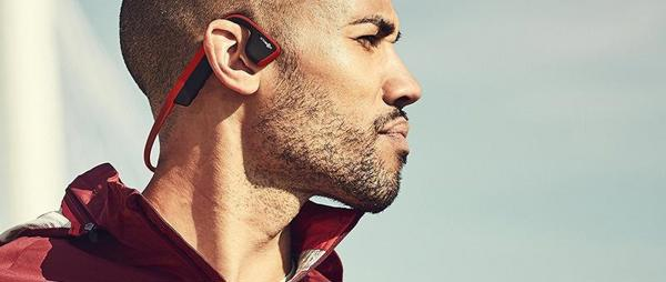 Aftershokz Wireless Bone Conduction Headphones - Canyon Red