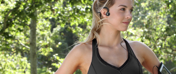 Aftershokz Bone Conduction Headphones - Onyx Black